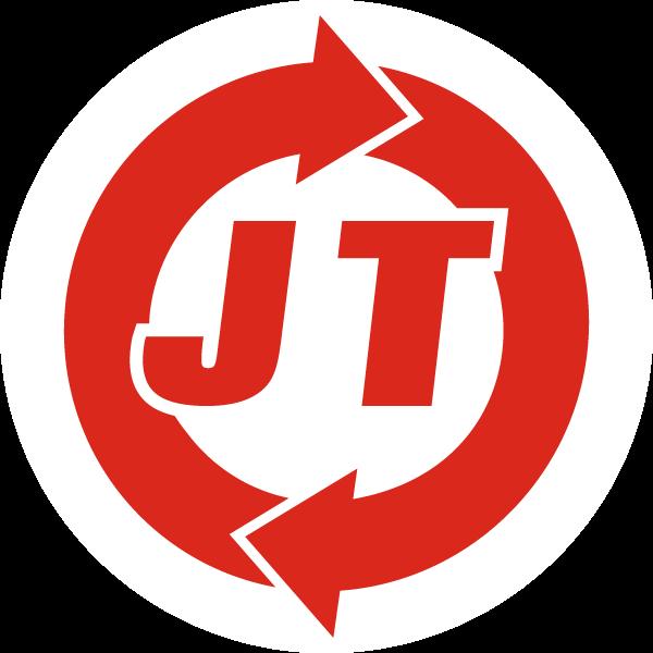Logo J&T Sicherheitstechnik weiß